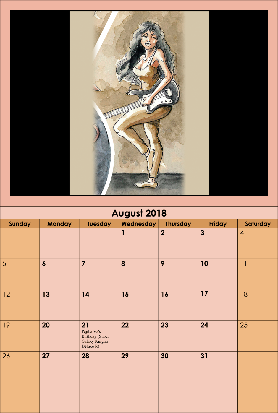 Opidane - August